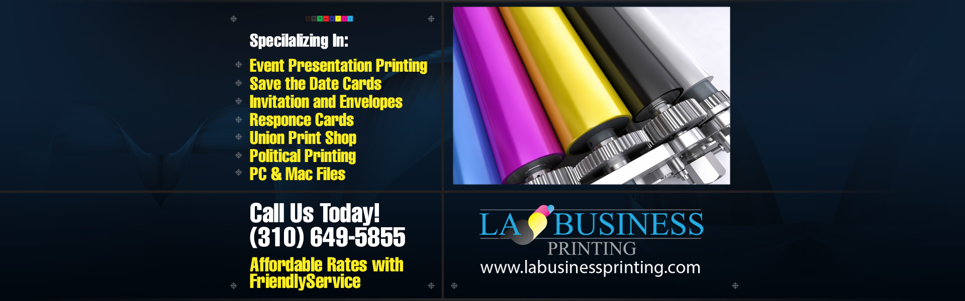 La business printing a full service california based printing welcome to la business printing reheart Gallery